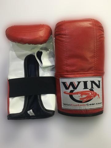 bag gloves red