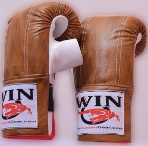 wood pattern bag gloves