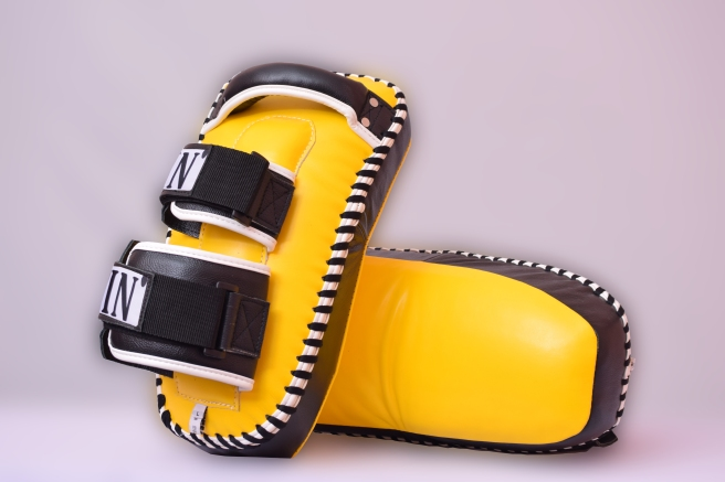 yellow double strap